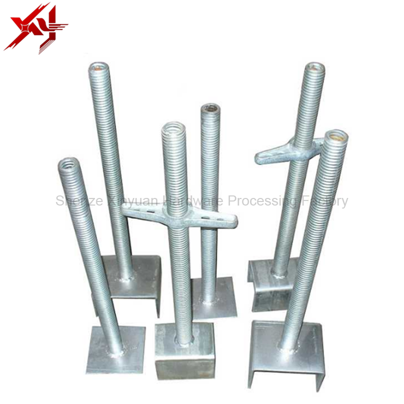 Scaffolding Adjustable hollow and solid Screw Jack base